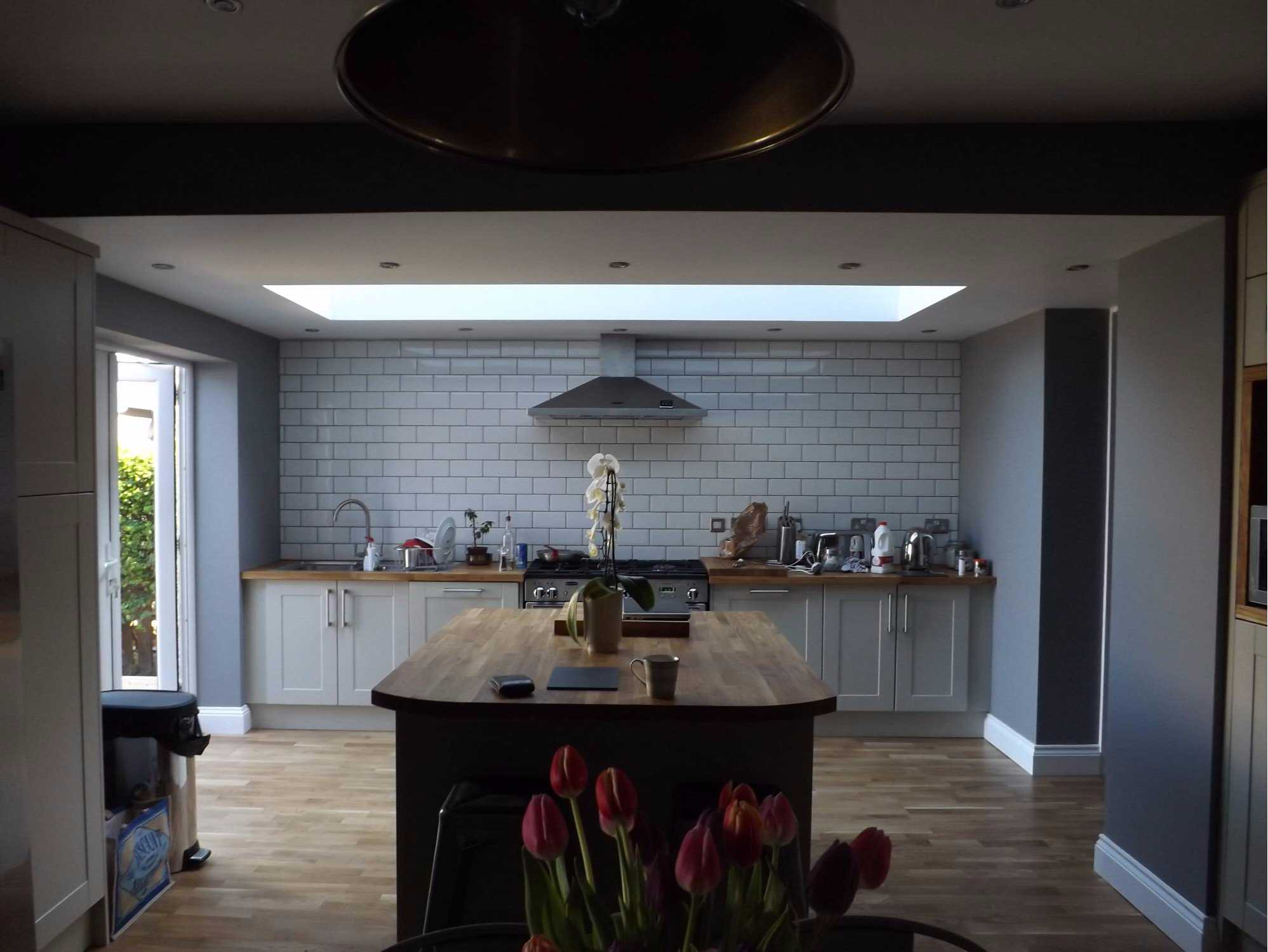 professionally designed kitchen by ph williams, builders in north wales